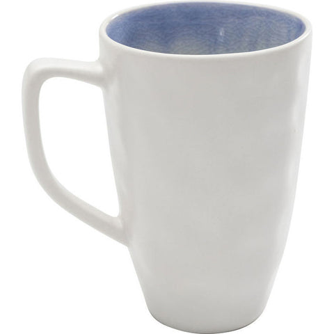 Crackle White Blue Mug-Kitchenware-Retail Therapy Interiors