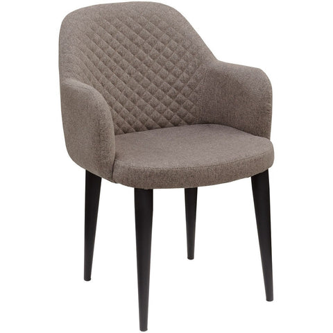 Dameo Fabric Dining Tub Chair-Furniture-Retail Therapy Interiors