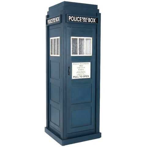 "Dr Who Police Box - Storage Unit 5ft 8""-Furniture-Retail Therapy Interiors"