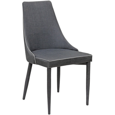 Duncan Dining Chair Black-Furniture-Retail Therapy Interiors