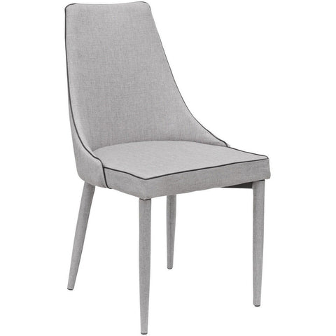 Duncan Dining Chair Grey-Furniture-Retail Therapy Interiors