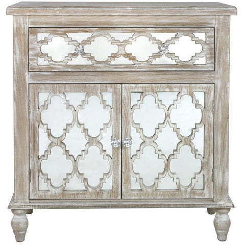 Dusky Beach 1 Drawer and 2 Cupboard Cabinet-Furniture-Retail Therapy Interiors