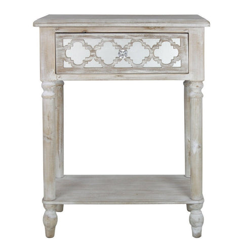 Dusky Beach 1 Drawer End Table-Furniture-Retail Therapy Interiors