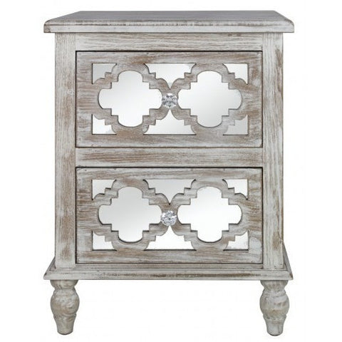 Dusky Beach 2 Drawer Cabinet-Furniture-Retail Therapy Interiors