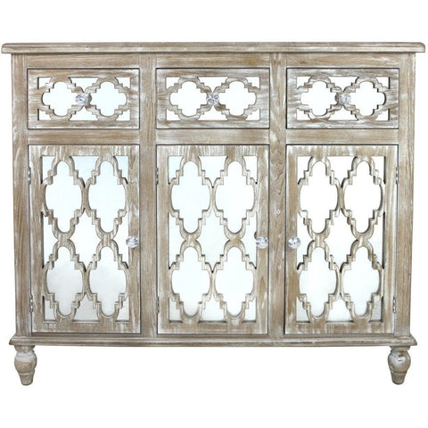 Dusky Beach 3 Drawer and 3 Cupboard Cabinet-Furniture-Retail Therapy Interiors
