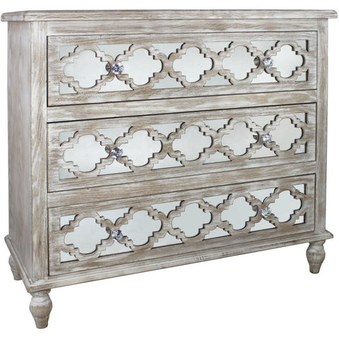Dusky Beach 3 Drawer Cabinet-Furniture-Retail Therapy Interiors