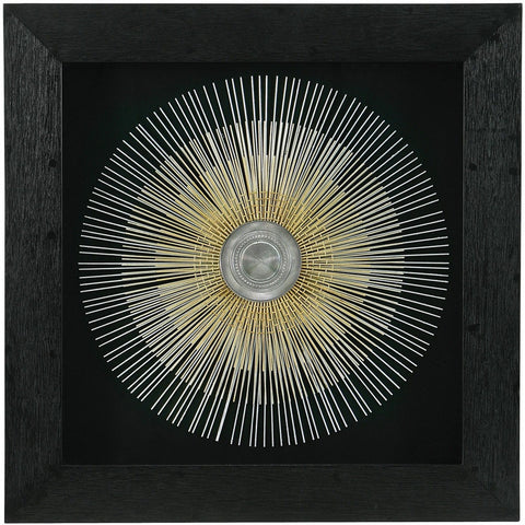 Framed Sunburst Wall Art-Wall Art-Retail Therapy Interiors