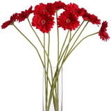 Gerbera Single Stem Flower Red 62cms-Accessories-Retail Therapy Interiors