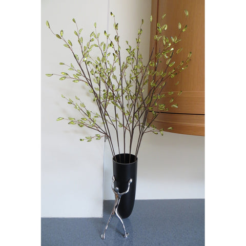 Green Acrylic Blossom on Stem 81cms-Accessories-Retail Therapy Interiors