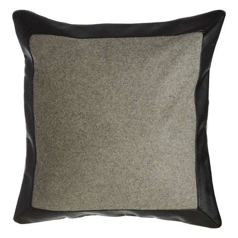 Hampstead Cushion Grey Contrast-Soft Furnishings-Retail Therapy Interiors