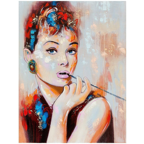 Hepburn Canvas Art-Wall Art-Retail Therapy Interiors