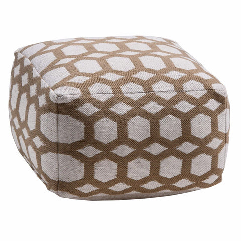 Hexa Pouffe-Soft Furnishings-Retail Therapy Interiors
