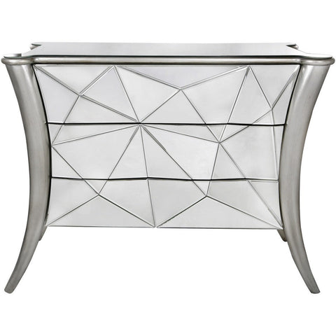 Iceberg 3 Drawer Mirror Cabinet-Furniture-Retail Therapy Interiors