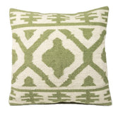 Jalandar Kilim Wool and Cotton Cushion Sage-Soft Furnishings-Retail Therapy Interiors
