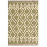 Jalandar Kilim Wool and Cotton Rug Sage-Soft Furnishings-Retail Therapy Interiors