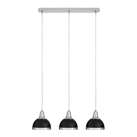 Jasper Triple Pendant Light Black-Lighting-Retail Therapy Interiors
