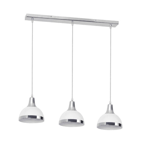 Jasper Triple Pendant Light White-Lighting-Retail Therapy Interiors