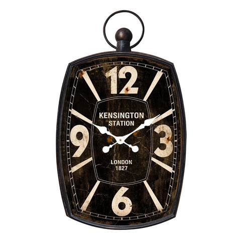 Kensington Station Wall Clock-Clocks-Retail Therapy Interiors