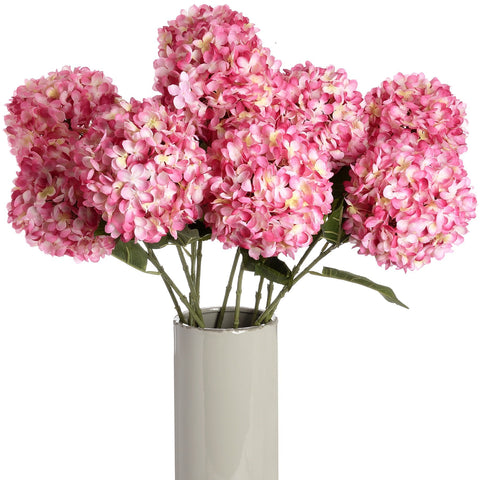 Large Deep Pink Single Hydrangea-Accessories-Retail Therapy Interiors