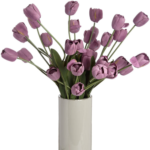 Large Lilac Tulip Stem-Accessories-Retail Therapy Interiors