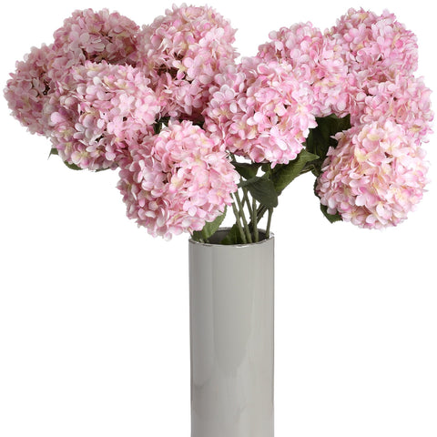 Large Pink Single Hydrangea-Accessories-Retail Therapy Interiors