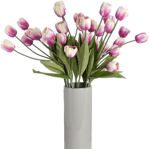 Large Pink Tulip Stem-Accessories-Retail Therapy Interiors