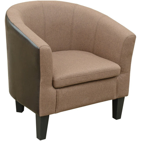 Leyland Tub Chair Brown-Furniture-Retail Therapy Interiors