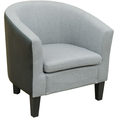 Leyland Tub Chair Grey-Furniture-Retail Therapy Interiors