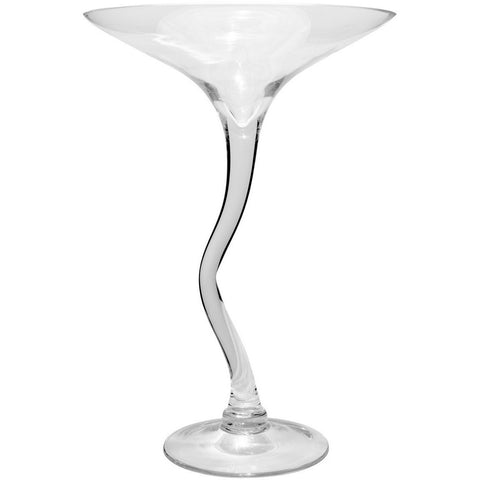 Martini Glass Vase Ornament-Accessories-Retail Therapy Interiors