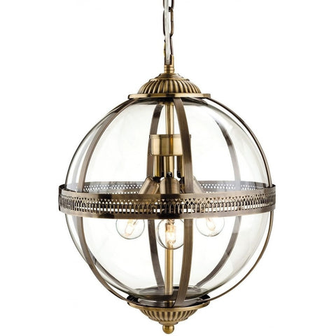 Mayfair Globe Pendant Light-Lighting-Retail Therapy Interiors