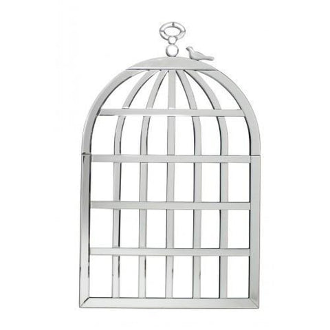 Mirror Birdcage Wall Art-Wall Art-Retail Therapy Interiors