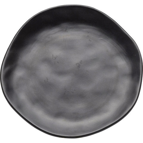 Organic Black Plate 20cms-Kitchenware-Retail Therapy Interiors