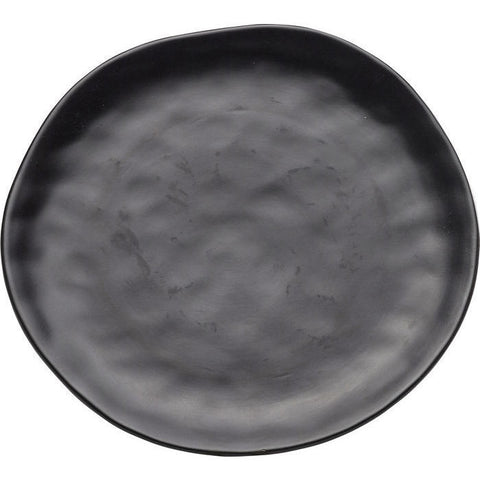 Organic Black Plate 26cms-Kitchenware-Retail Therapy Interiors