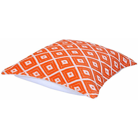 Outdoor Suitable Arabian Nights Orange Cushion-Soft Furnishings-Retail Therapy Interiors
