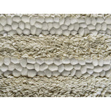 Petals and Pebbles Wool Rug Ivory and Beige-Soft Furnishings-Retail Therapy Interiors