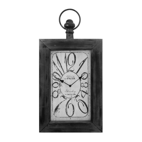 Portrait Wall Clock-Clocks-Retail Therapy Interiors