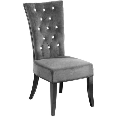 Radiance Grey Dining Chairs Set of 2-Furniture-Retail Therapy Interiors