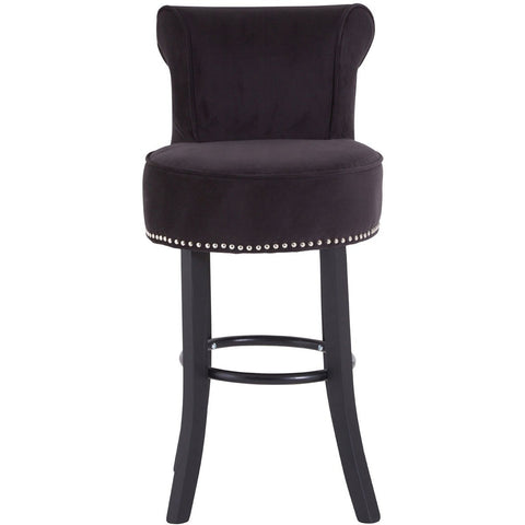 Regents Park Bar Stool Black, Set of 2-Furniture-Retail Therapy Interiors