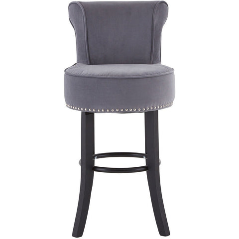 Regents Park Bar Stool Grey, Set of 2-Furniture-Retail Therapy Interiors