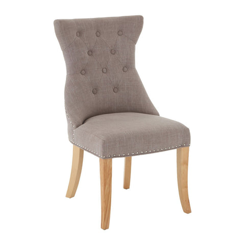 Regents Park Mink Dining Chair, Set of 2-Furniture-Retail Therapy Interiors