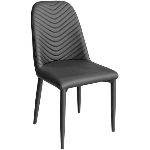Riversway Dining Chair Black-Furniture-Retail Therapy Interiors