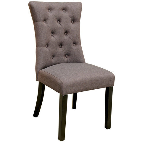 Sanderson Dining Chair Brown-Furniture-Retail Therapy Interiors