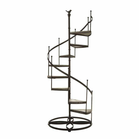 Spiral Stairs Shelf Washed Large 136cm-Furniture-Retail Therapy Interiors
