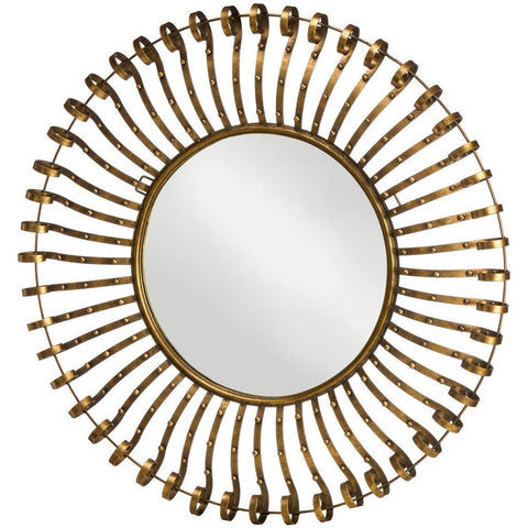 Spoke Frame Mirror 100cm-Mirrors-Retail Therapy Interiors