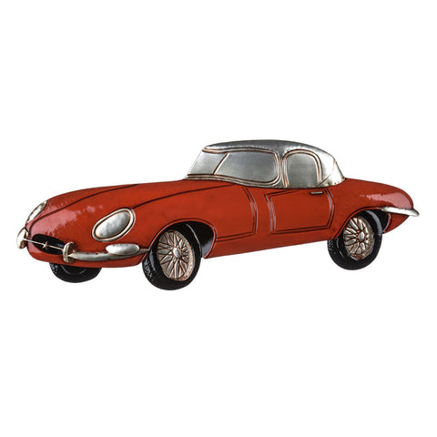 Sports Car Wall Art, Red-Wall Art-Retail Therapy Interiors