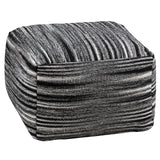 Stripe Pouffe-Soft Furnishings-Retail Therapy Interiors