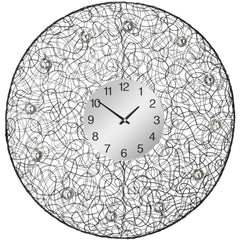 Tangle Wall Clock 60cms