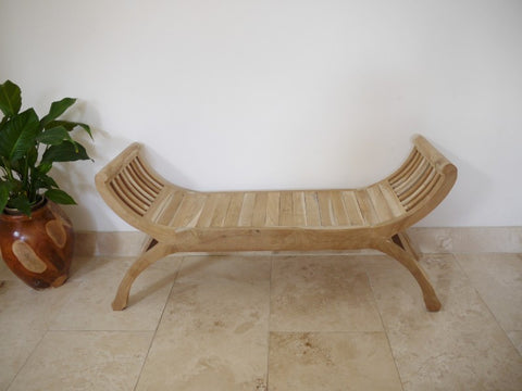 Teak Bench-Furniture-Retail Therapy Interiors