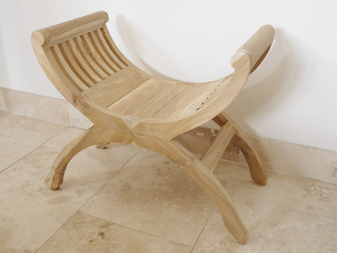 Teak Stool-Furniture-Retail Therapy Interiors