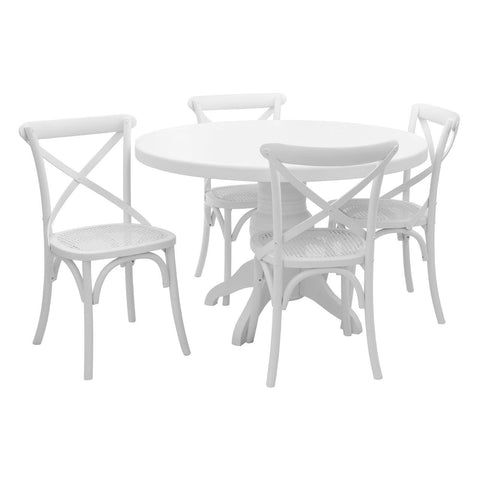 Vermont 5pc Dining Set-Furniture-Retail Therapy Interiors